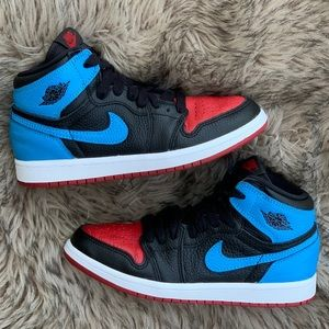 Retro Air Jordan 1 one high NC to Chi bred 2 2y